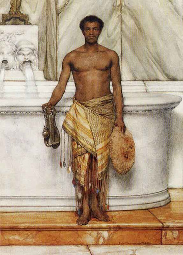 A Balneator By Sir Lawrence Alma Tadema
