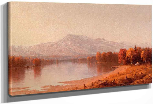 Moat Mountain, New Hampshire By Sanford Robinson Gifford