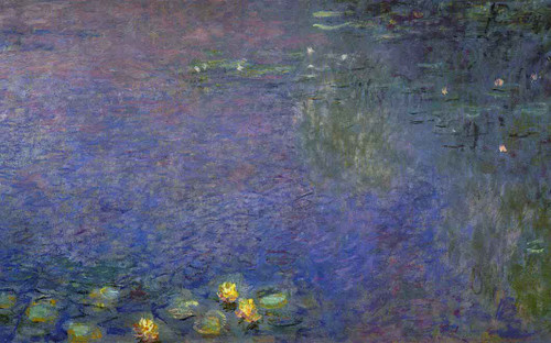 Morning (Right Center Detail) By Claude Oscar Monet(French, 1840 1926)