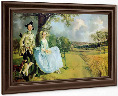 Mr And Mrs Andrews By Thomas Gainsborough By Thomas Gainsborough