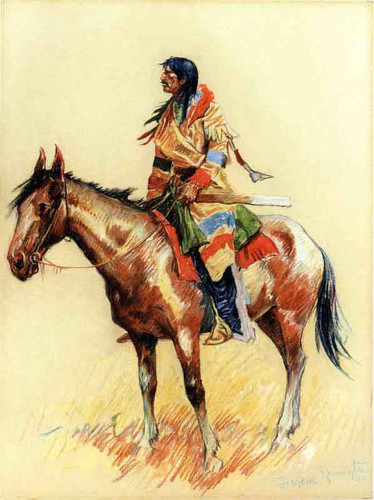 A Breed By Frederic Remington