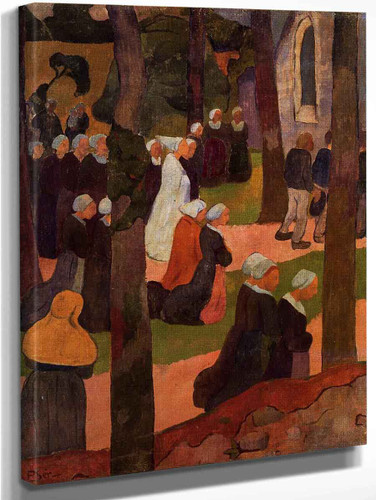 A Breton Sunday By Paul Serusier