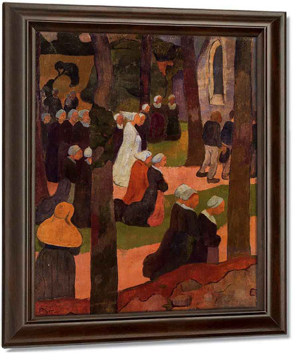 A Breton Sunday By Paul Serusier Oil on Canvas Reproduction