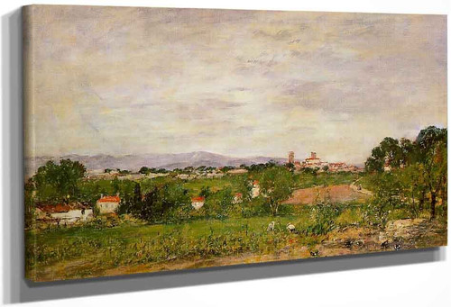 Near Antibes By Eugene Louis Boudin