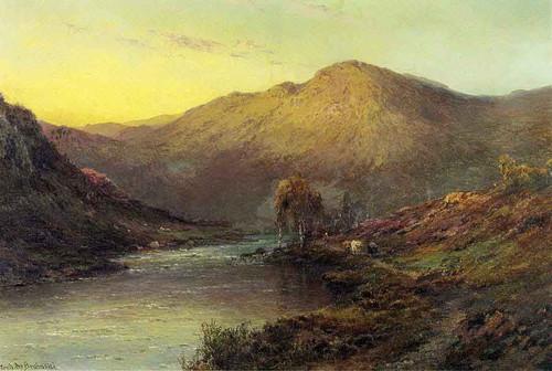 Near Dunkeld By Alfred De Breanski, Sr.