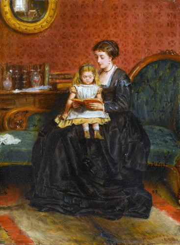 A Captivating Story By George Goodwin Kilburne By George Goodwin Kilburne