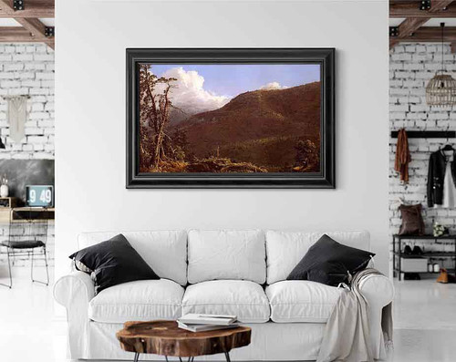 New England Landscape By Frederic Edwin Church By Frederic Edwin Church