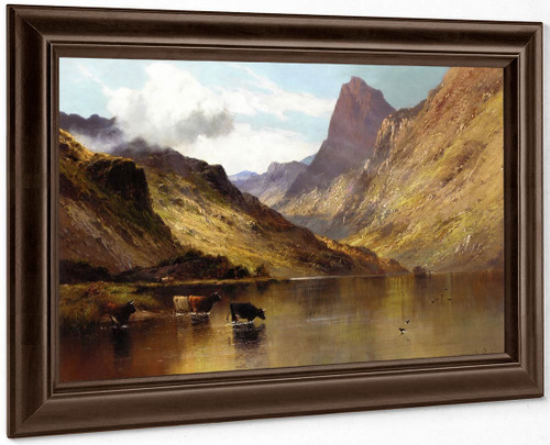 Ogwen, North Wales By Alfred De Breanski, Sr.