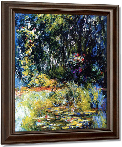 A Corner Of The Water Lily Pond By Claude Oscar Monet