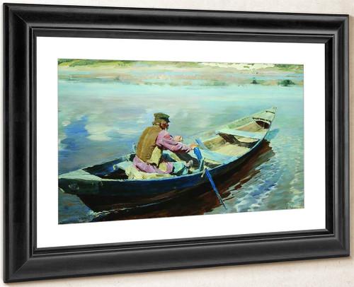 On The River By Sergei Arsenevich Vinogradov Russian 1869 1938