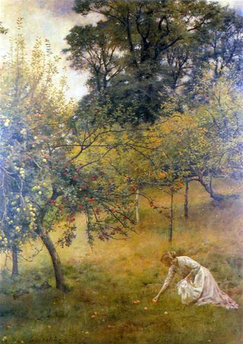 A Devonshire Orchard By John Maler Collier