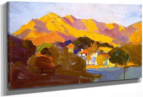 Pasadena Sunset By Franz Bischoff By Franz Bischoff