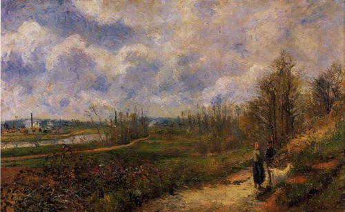Path To Le Chou, Pontoise By Camille Pissarro