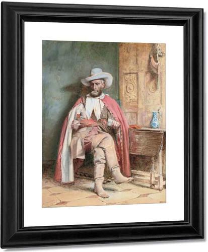 A Festive Offering By George Goodwin Kilburne By George Goodwin Kilburne