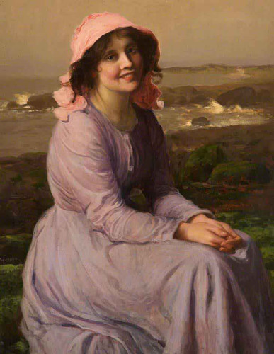 A Fisherman's Daughter By Thomas Edwin Mostyn