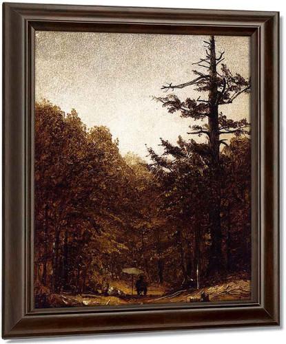 A Forest Road By Sanford Robinson Gifford