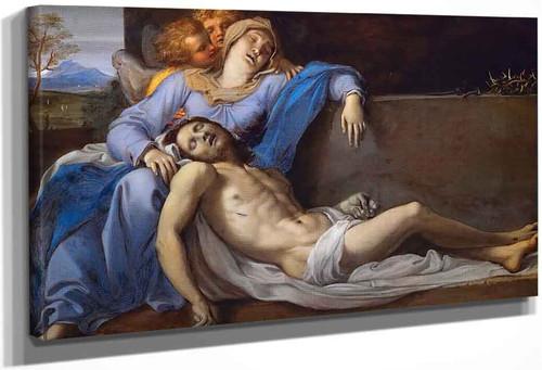 Pieta By Annibale Carracci By Annibale Carracci