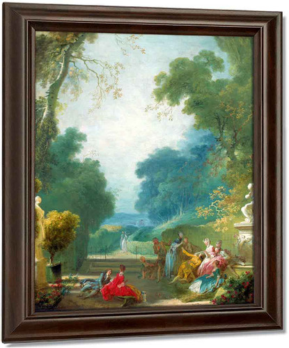 A Game Of Hot Cockles By Jean Honore Fragonard