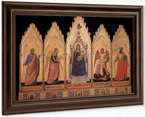 Polyptych By Giotto Di Bondone By Giotto Di Bondone