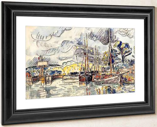 Port Scene By Paul Signac