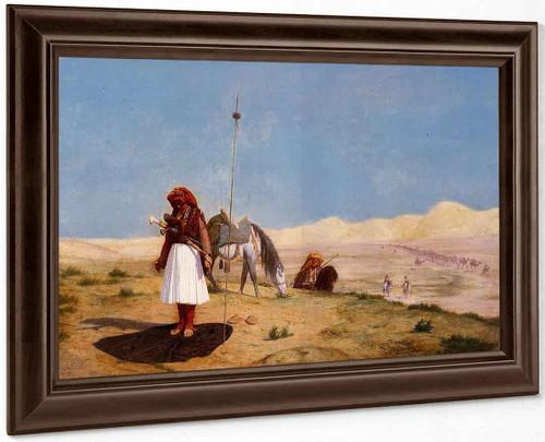 Prayer In The Desert By Jean Leon Gerome