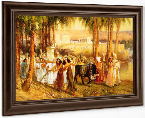 Procession In Honor Of Isis By Frederick Arthur Bridgman
