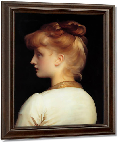 A Girl By Sir Frederic Lord Leighton