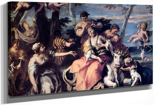 Rape Of Europa By Sebastiano Ricci
