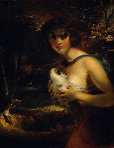 A Gypsy Girl By Sir Thomas Lawrence