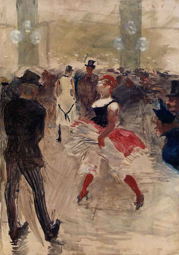 A L'elysee Montmartre By Henri De Toulouse Lautrec