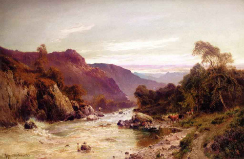 Rydal Water From Ambleside By Alfred De Breanski, Sr.