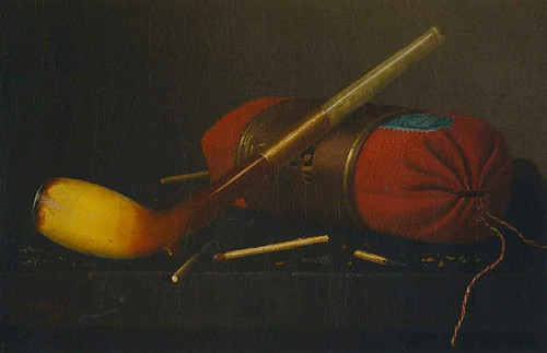 Sack Of Tobacco By William Michael Harnett By William Michael Harnett