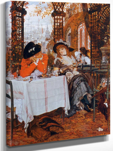 A Luncheon By James Tissot