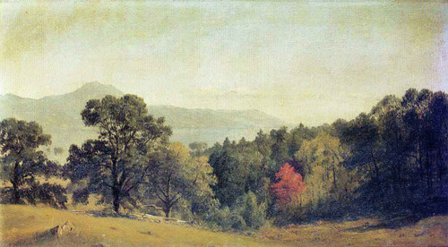 Scene At Bolton, Lake George By Sanford Robinson Gifford