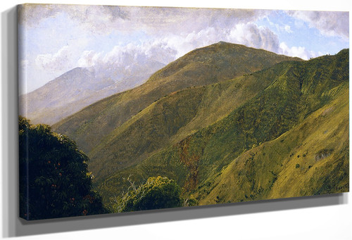 Scene In The Blue Mountains, Jamaica By Frederic Edwin Church By Frederic Edwin Church