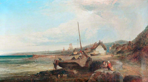 Seascape By Edward William Cooke, R.A.