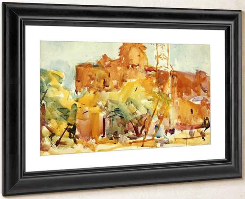 Segovia By Charles W. Hawthorne