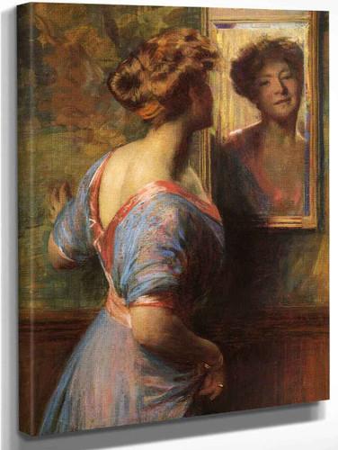 A Passing Glance By Thomas P. Anshutz