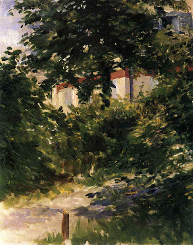 A Path In The Garden At Rueil By Edouard Manet By Edouard Manet