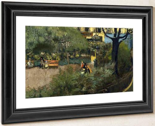 Square Berlioz1 By Edouard Vuillard