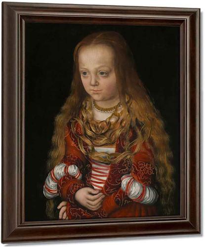 A Princess Of Saxony By Lucas Cranach The Elder