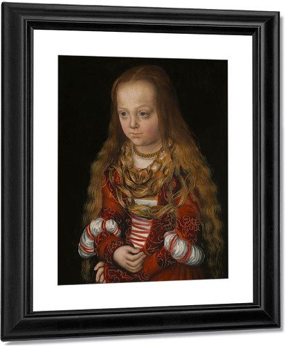 A Princess Of Saxony By Lucas Cranach The Elder By Lucas Cranach The Elder