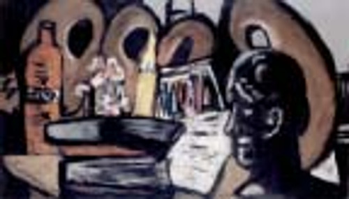 Still Life With Pallets By Max Beckmann By Max Beckmann