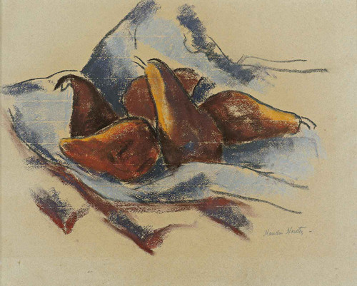 Still Life With Pears by Marsden Hartley