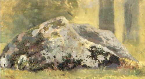 Stones Study By Paul Signac