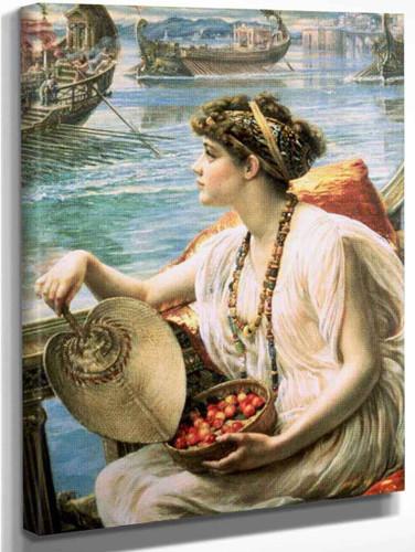 A Roman Boat Race By Sir Edward John Poynter