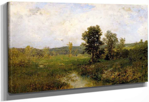 Summer Landscape By Alexander Helwig Wyant