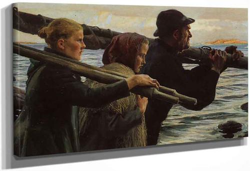 Summer On The Archipelago By Albert Edelfelt