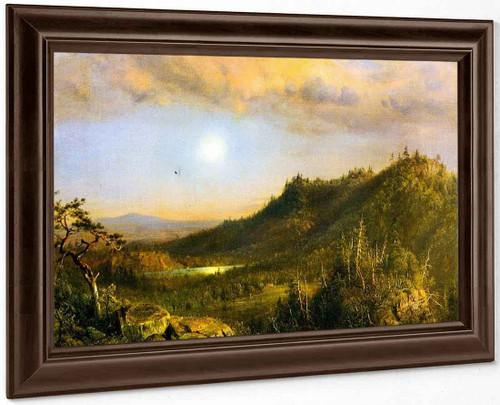 Sunset By Frederic Edwin Church By Frederic Edwin Church