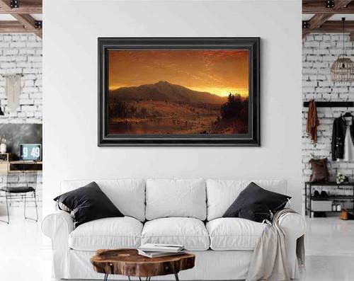 Sunset By Sanford Robinson Gifford